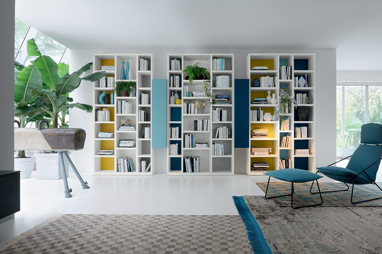 colours, everyday! librerie soggiorno febal lecce - febal casa lecce - Soggiorno Febal 2