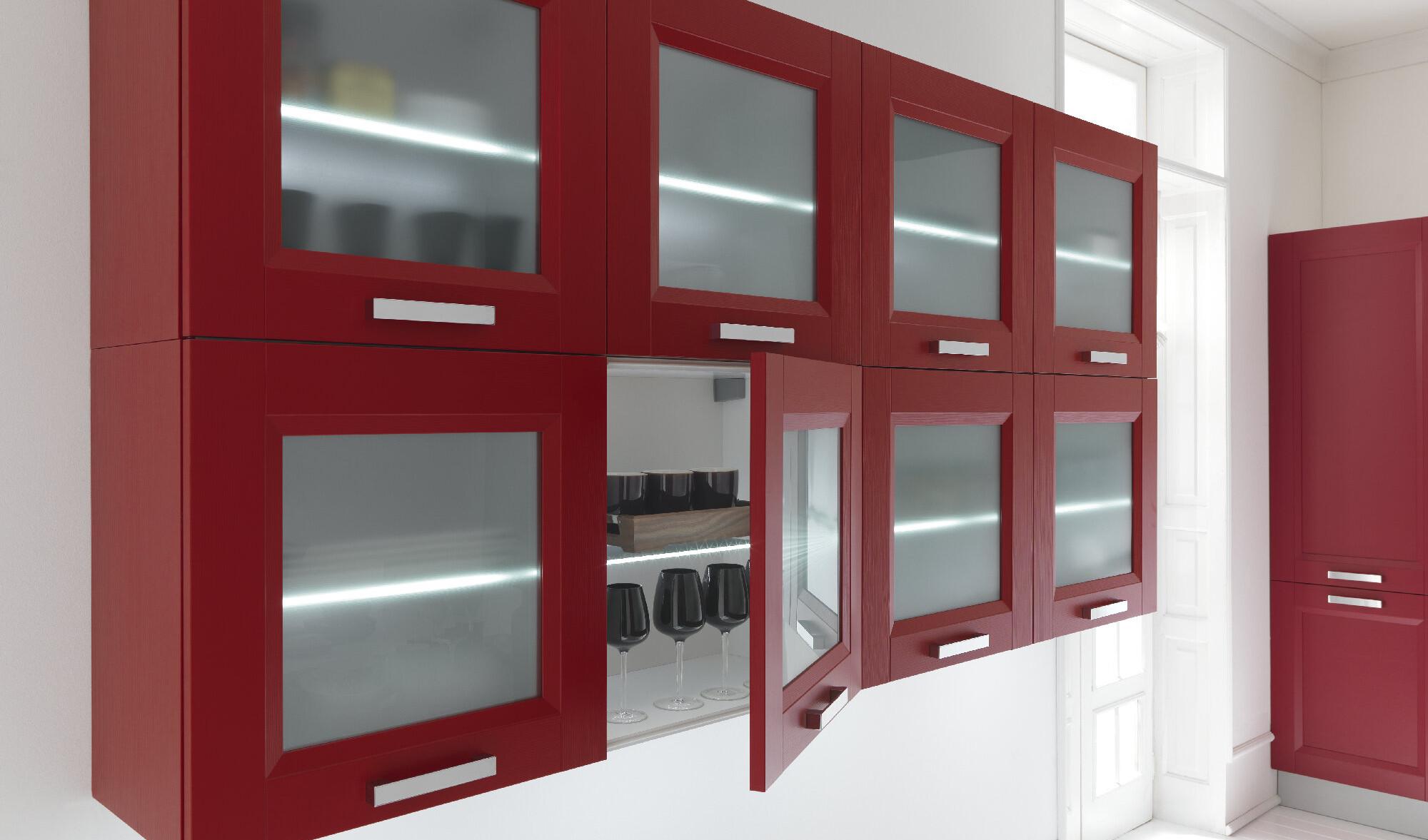Cucina Dream rossa Febal Lecce