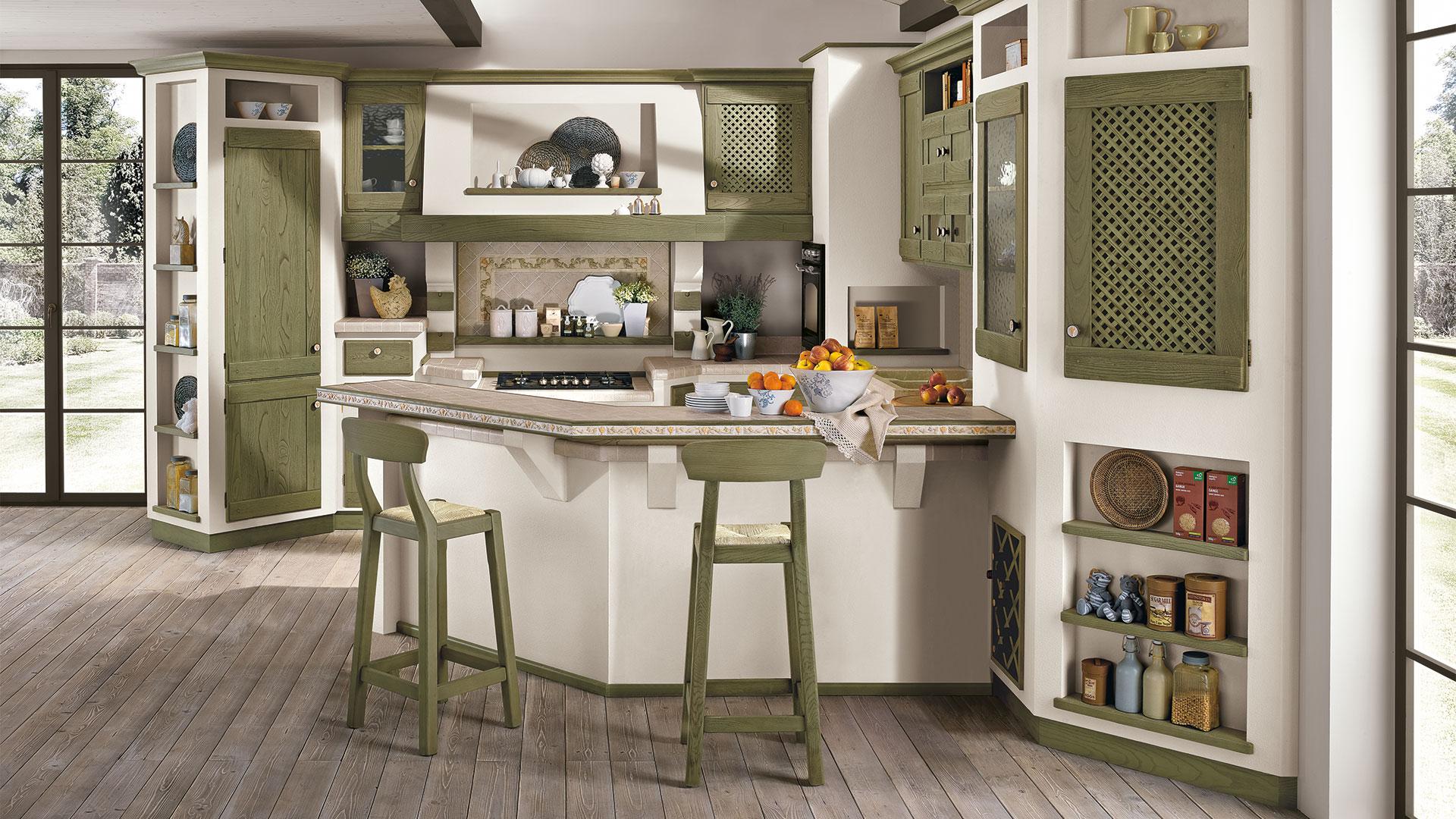 Cucina Anita Lube Collezione Borgo Antico