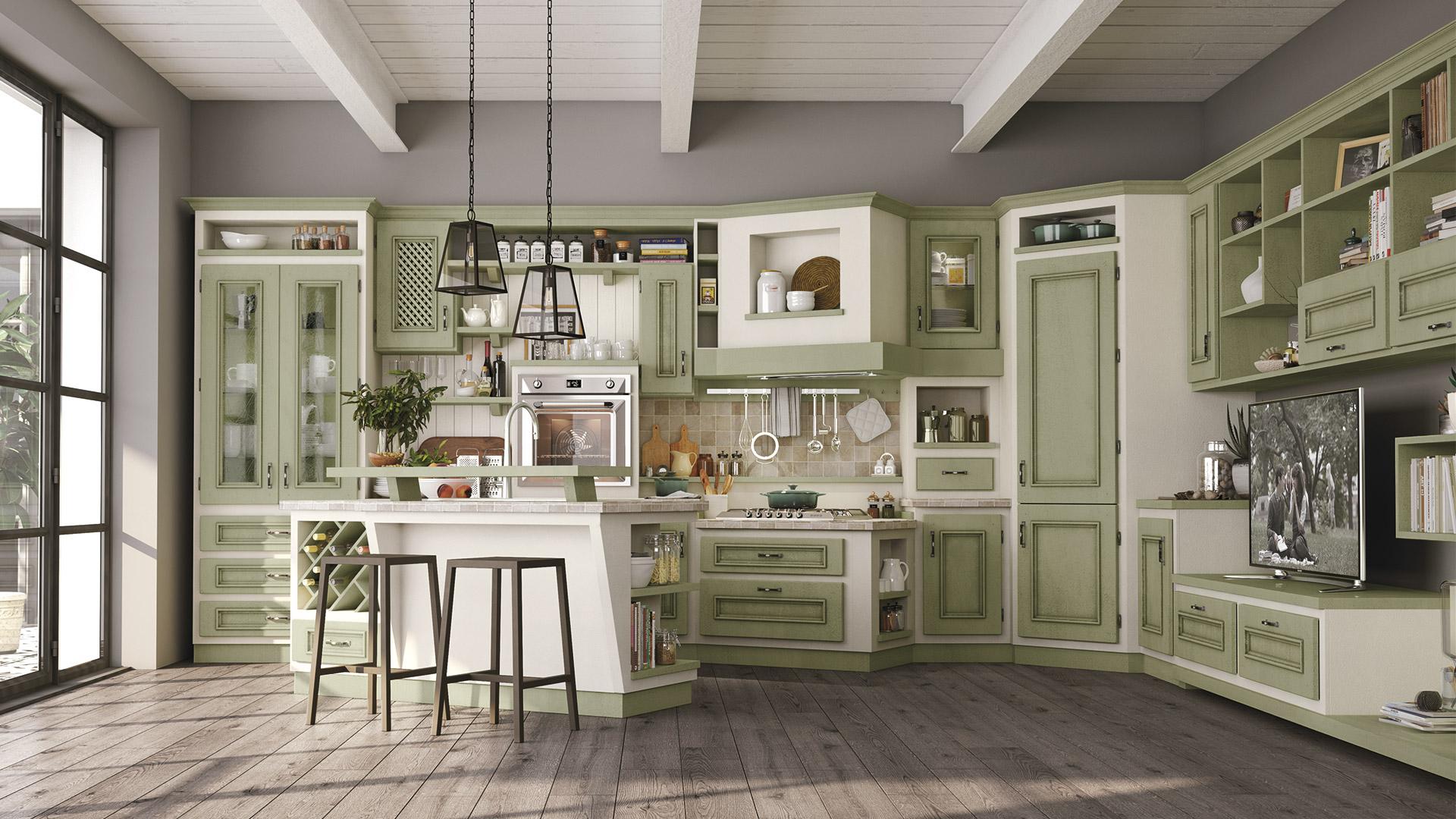 Cucina Beatrice Lube Collezione Borgo Antico
