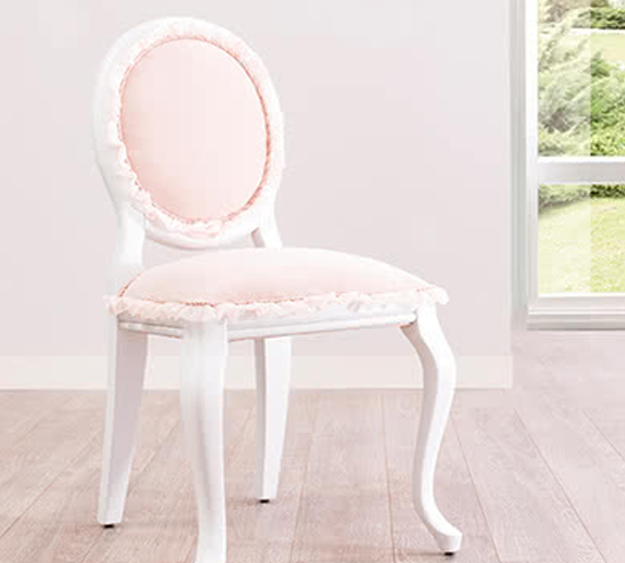 sedia cameretta principessa
